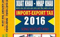 Biểu thuế XNK 2016 – bản đầy đủ